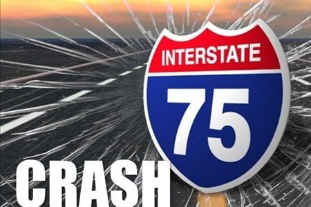 I-75 Crash graphic