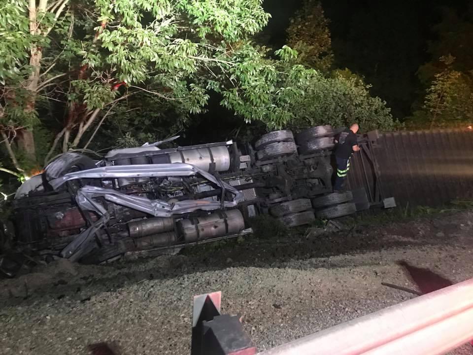 rockcastle semi crash 6/28