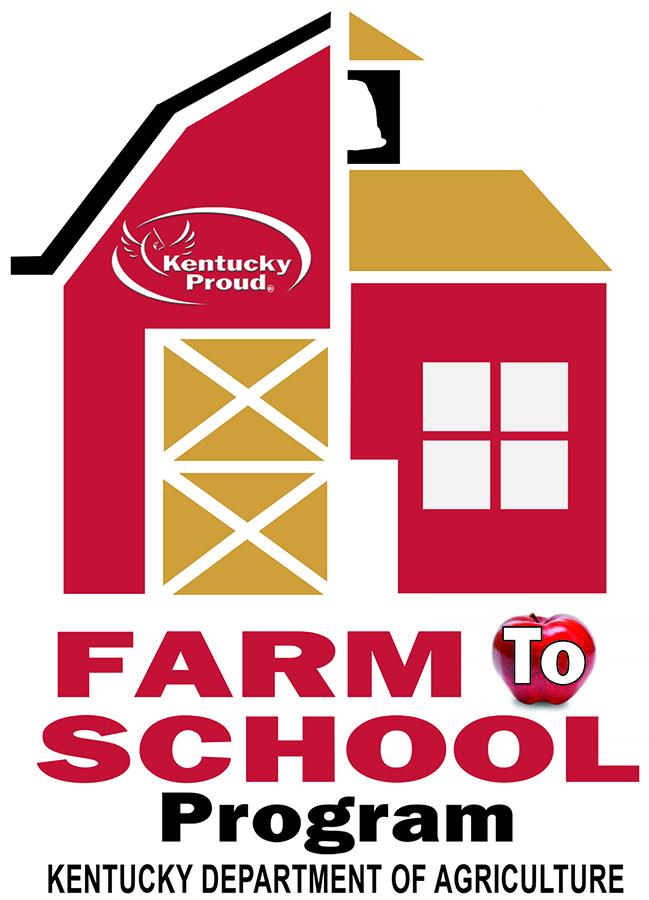 Kentucky Department of Agriculture's Farm to School Program logo