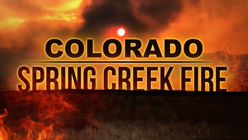 Colorado Spring Creek Fire