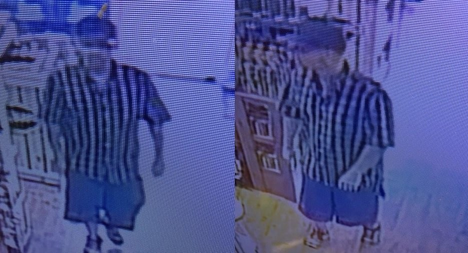 Georgetown Police release pictures of suspect involved in robbery and crash.