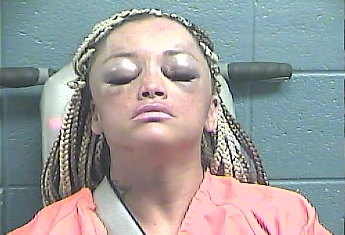 Charged with hitting a Jessamine County Sheriff's deputy's cruiser in Nicholasaville.