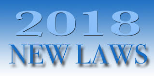 New Laws 2018 graphic