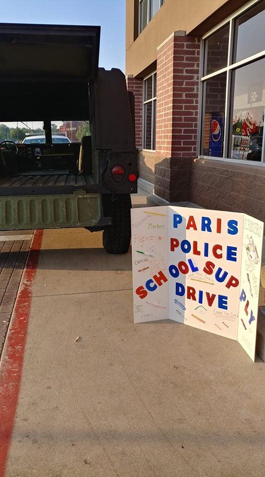 FACEBOOK/PARIS POLICE