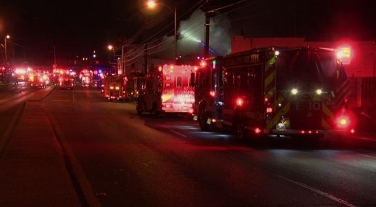 newtown pike fire 8/20