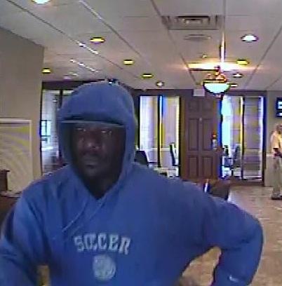 Suspect in Citizen's Commerce Bank robbery in Nicholasville.