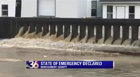 State of Emergency is in effect in Montgomery County
