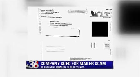 Mailer Scam