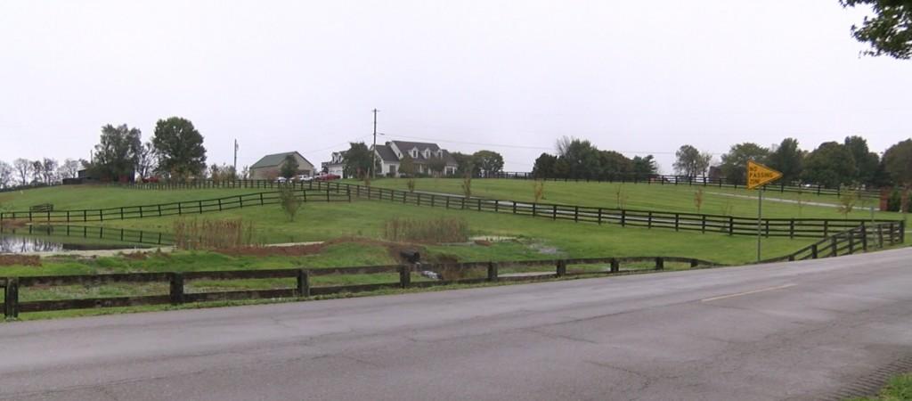 Homeowner fired at burglar who broke into his home on Jacks Creek Pike.
