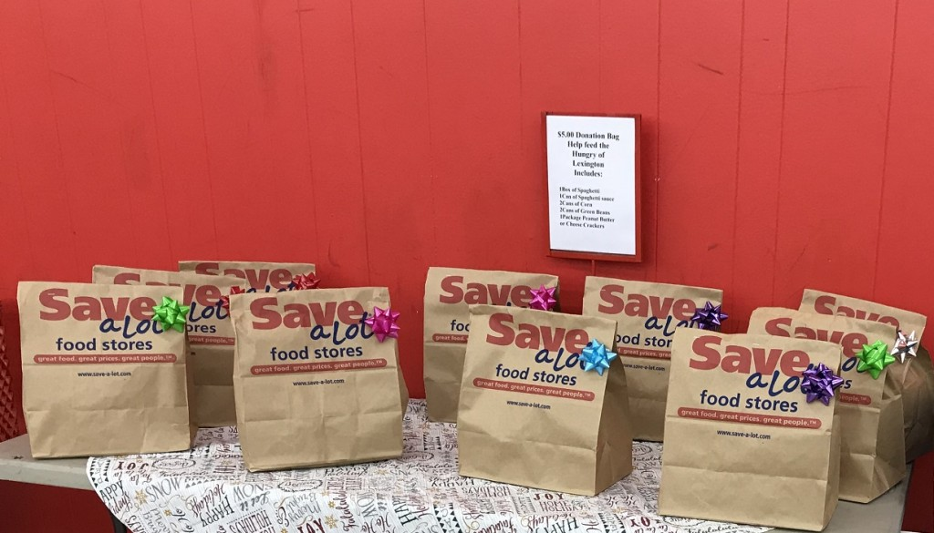 ABC 36 and Save A Lot are teaming up for a food drive for the Lexington Rescue Mission.