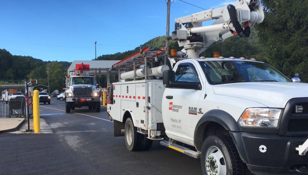 Crews from Kentucky Power heading to Florida to help with Hurricane Michael.
