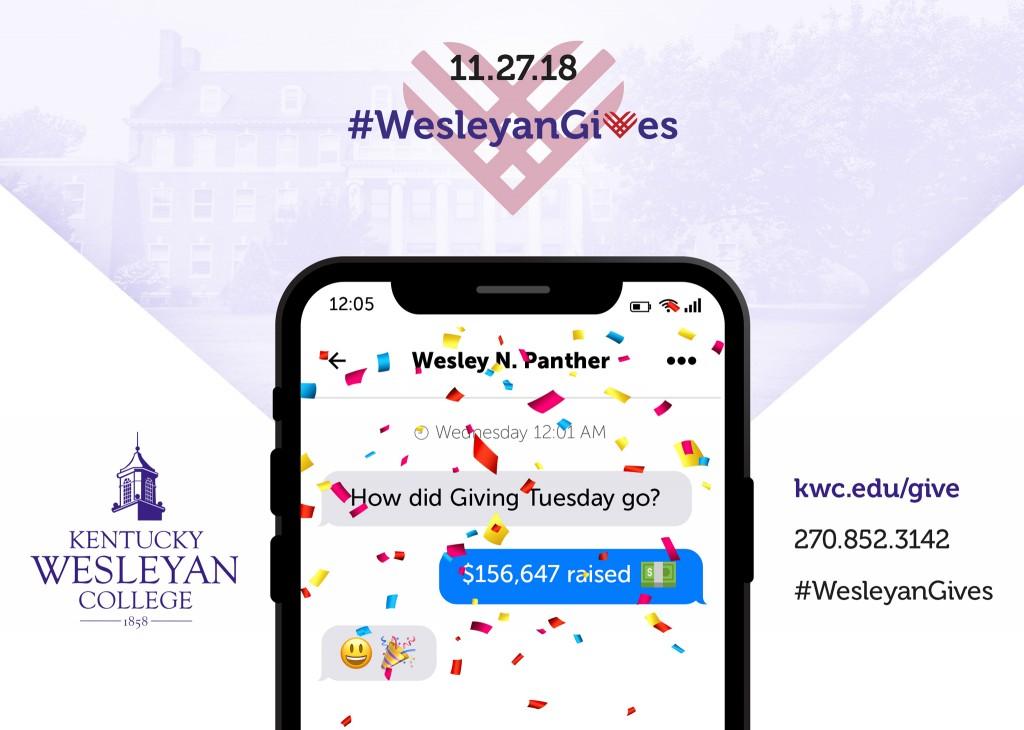 Kentucky Wesleyan receives over $150