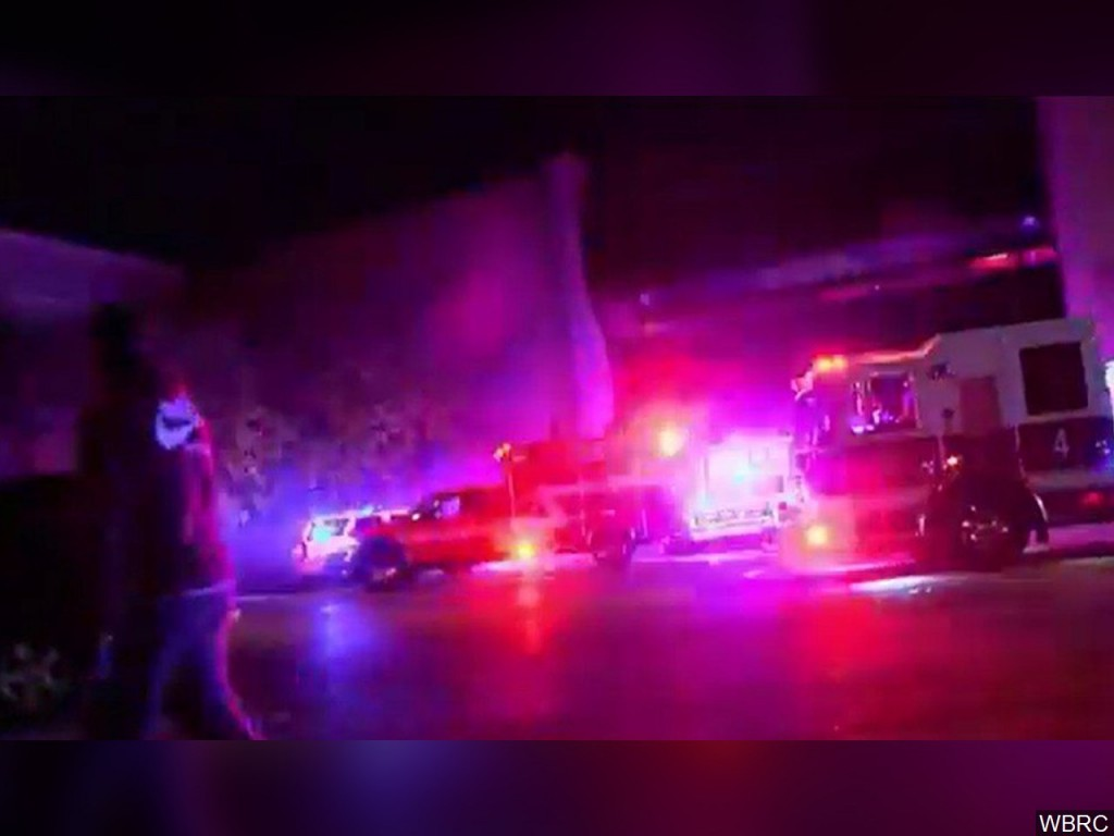 Five Houston police officers injured