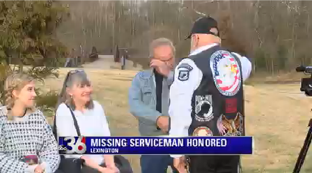 Missing service member honored