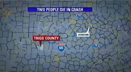 Two people die in crash