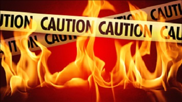 fire graphic with caution tape (generic)