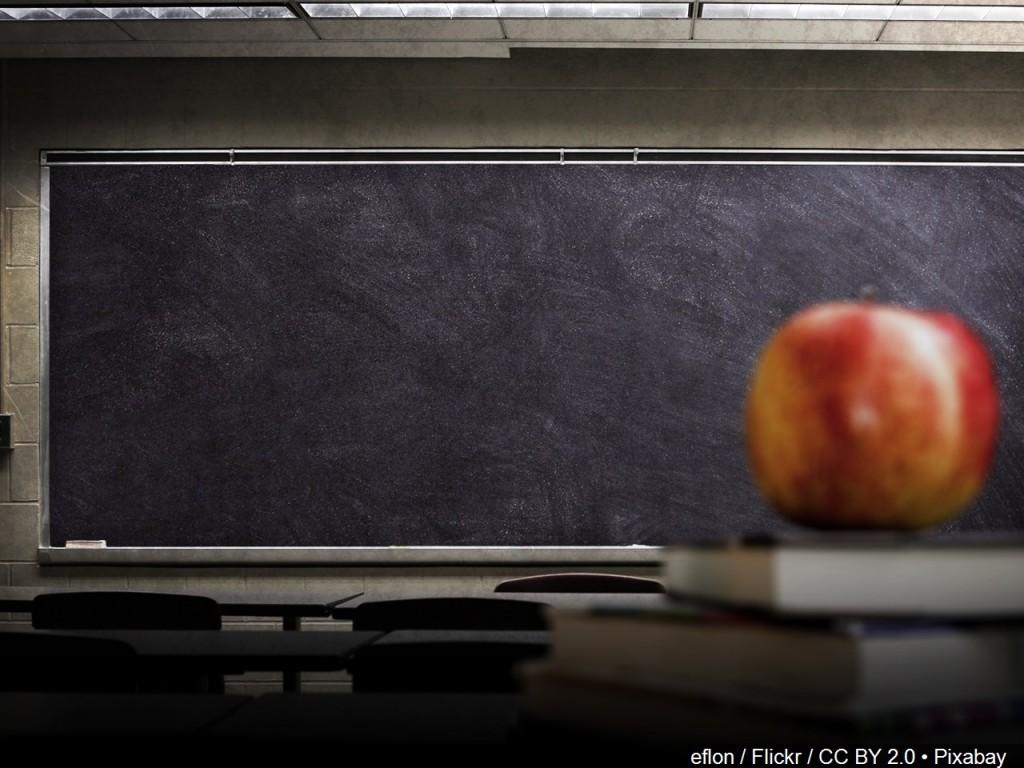 School chalkboard via MGN Online