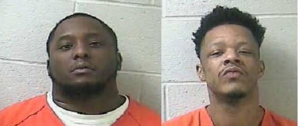 Arnett B. Baines and Cylar L. Shemwell . Accused in triple murder in Louisville.
