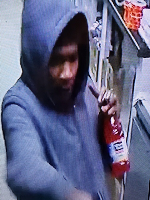 Suspect in shooting during robbery at A&B store in Knox County.