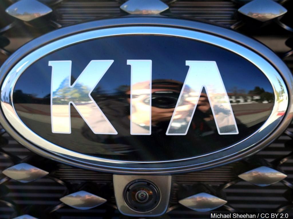 KIA car emblem