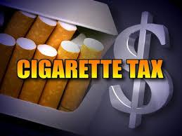 Cigarette Tax graphic