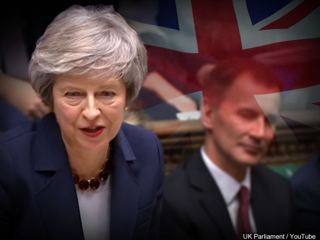 Theresa May at the House of Commons of the United Kingdom