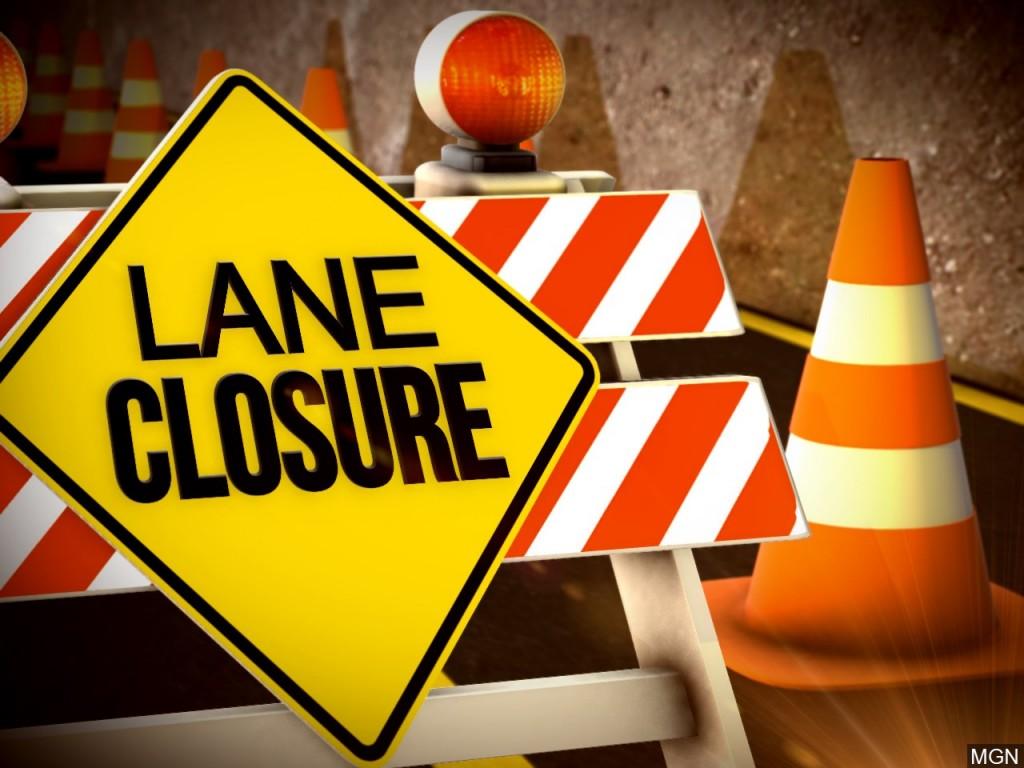 Lane closure