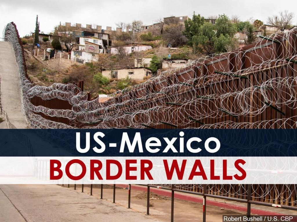 US-Mexico border walls