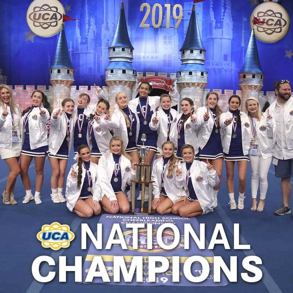LCA Cheer brings home first UCA National Championship