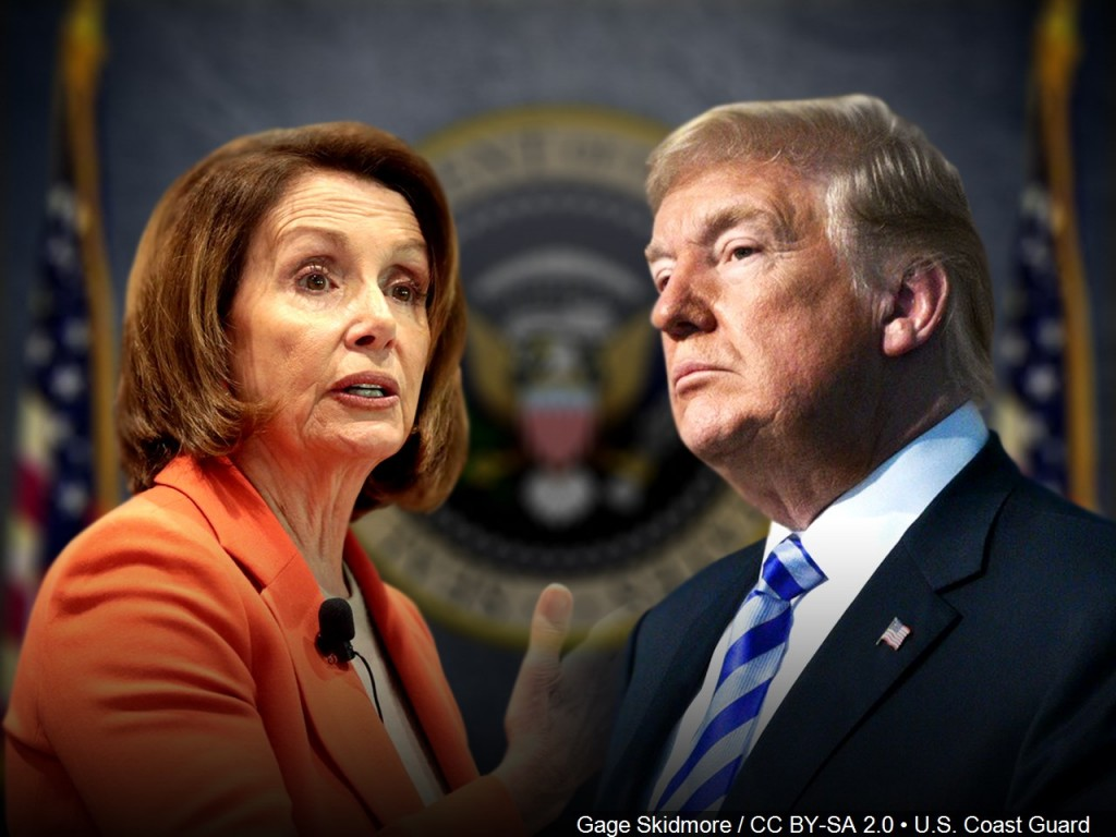 House Speaker Nancy Pelosi and President Donald Trump