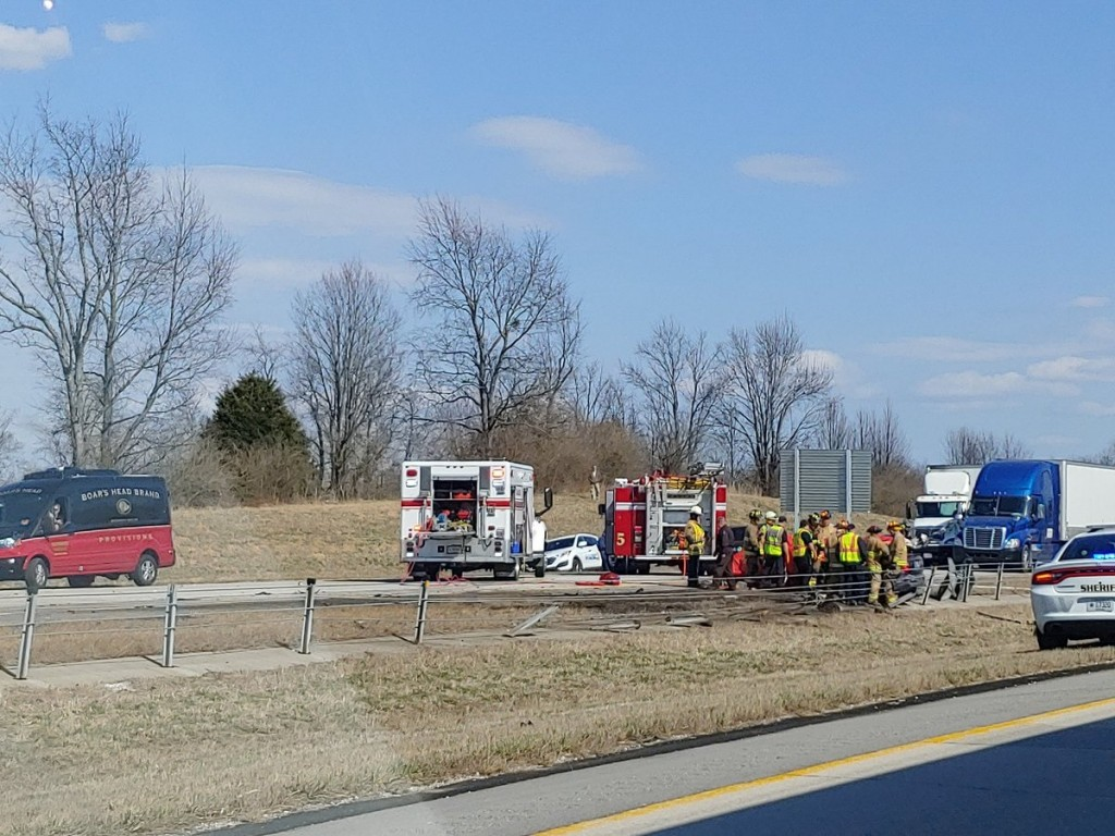 Fatal accident on I-64 between MM 58-59.