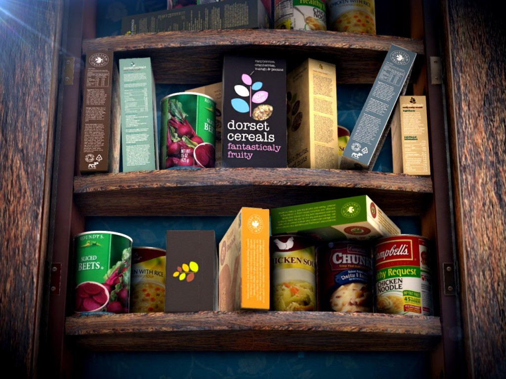 Food pantry background