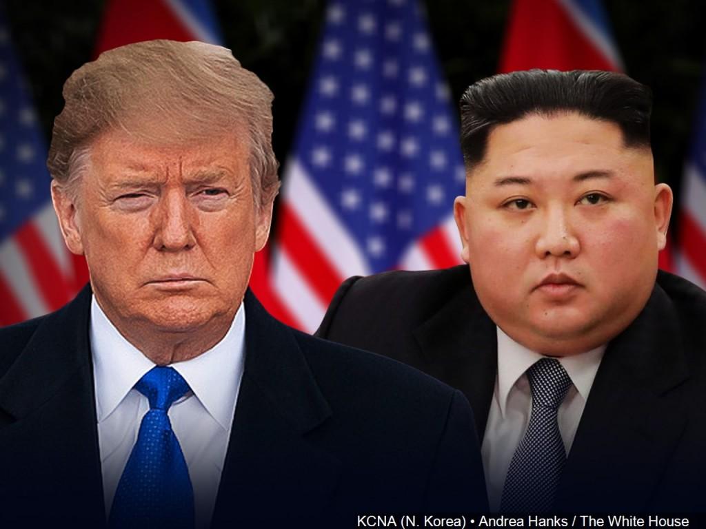 Vietnam Summit: Trump with Kim Jong-un