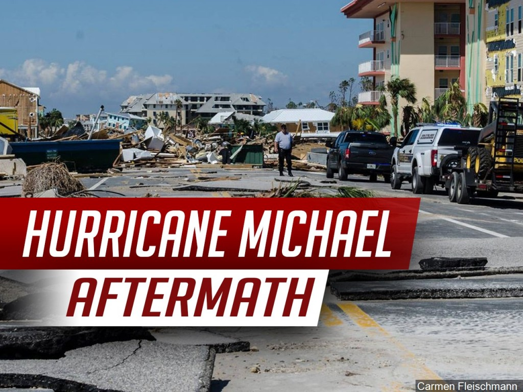 Hurricane Michael aftermath