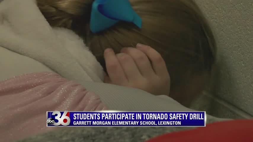 Students Participate in Tornado Safety Drill