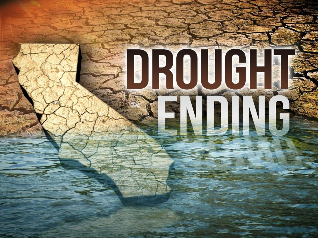 California Drought Ending