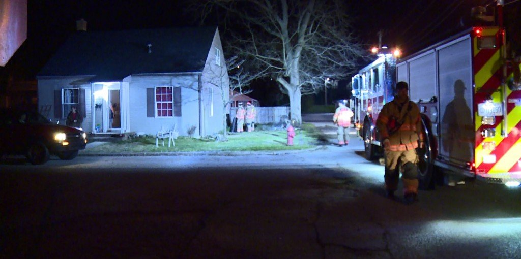 Driver ran into home on Barnes Street in Nicholasville.