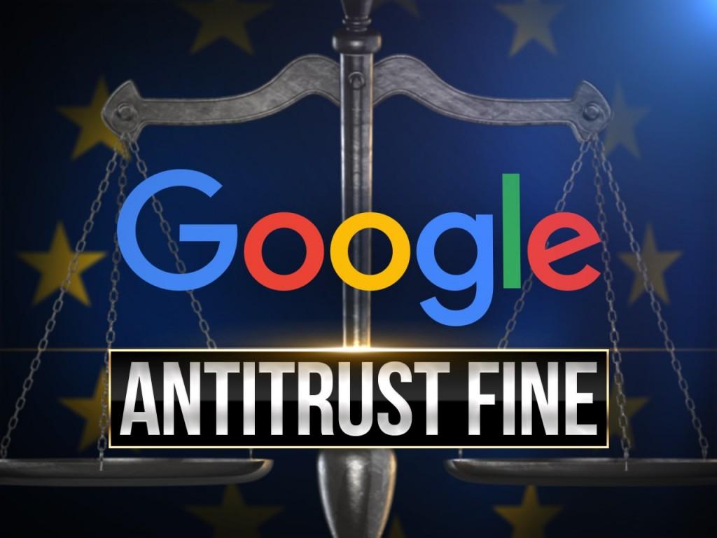 European Union hits Google with third antitrust fine