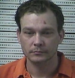 Accused of throwing rock at car with family inside in Danville.