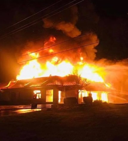 Fire destroys McDonald's in Clay County.