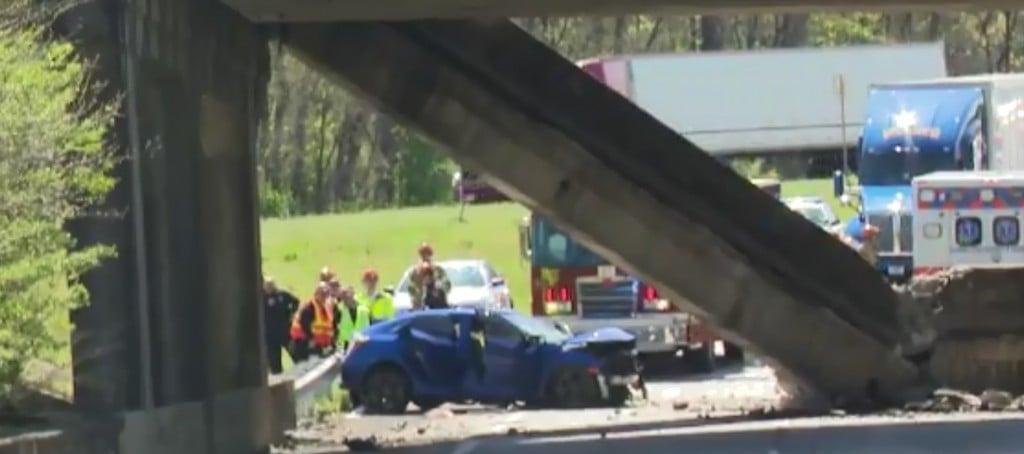 Bridge collapse on I75/I24 near Chattanooga.