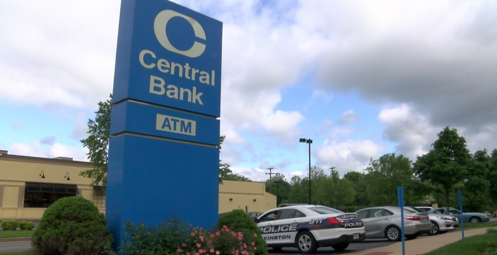 Central Bank robbed on West New Circle.