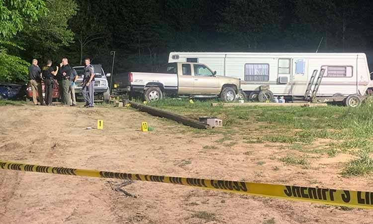Justin Wix was found shot multiple times outside his home in Allen County.