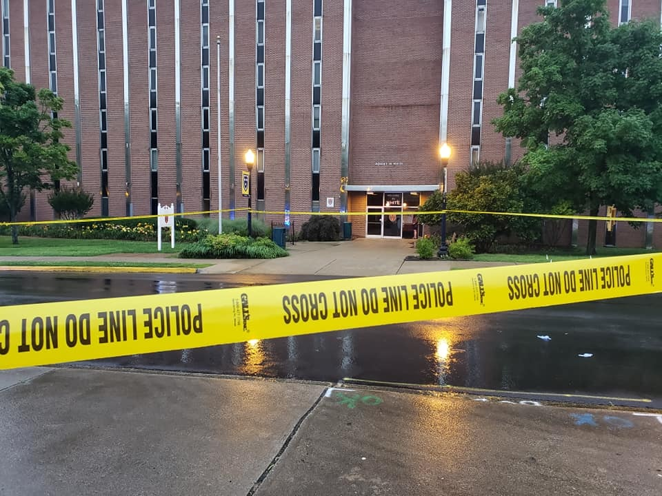Woman possibly struck by lightning at Murray State University
