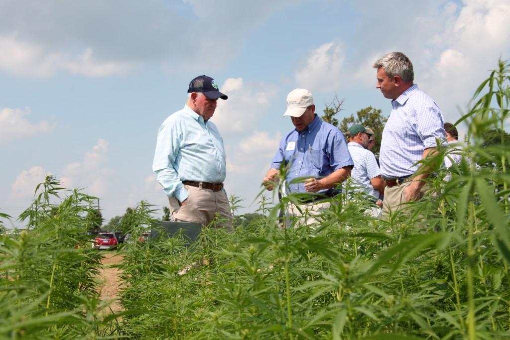 U.S. Agriculture Secretary Sonny Perdue tours hemp facilities in Lexington 7-2-19