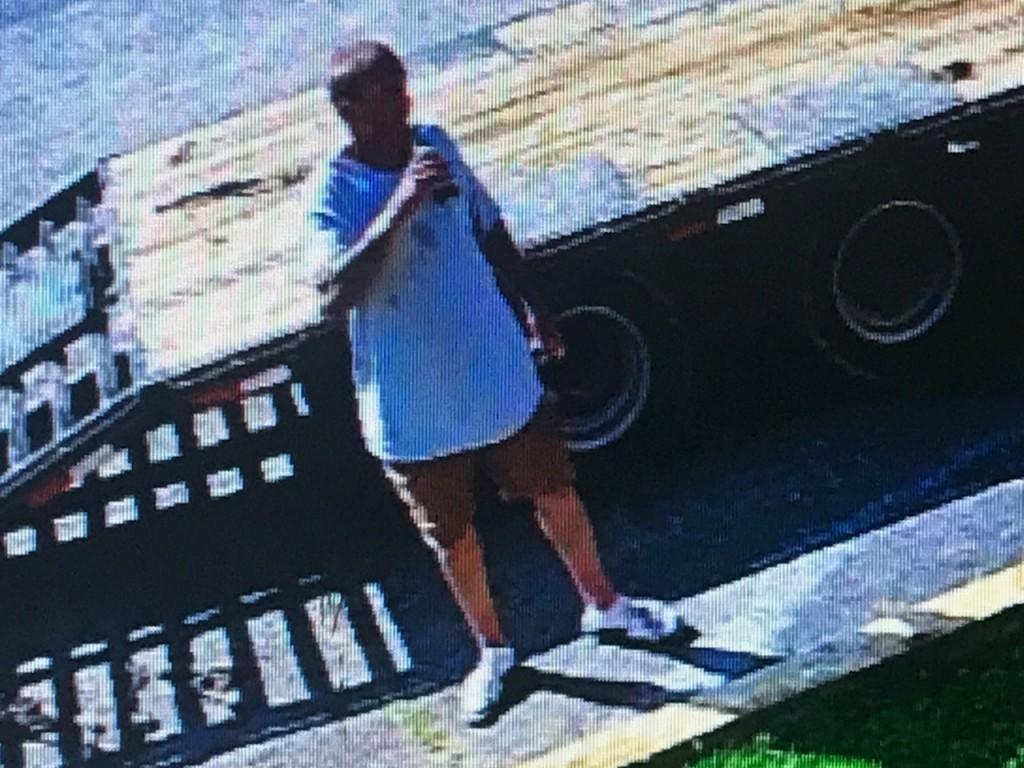 Stamping Ground truck theft suspect