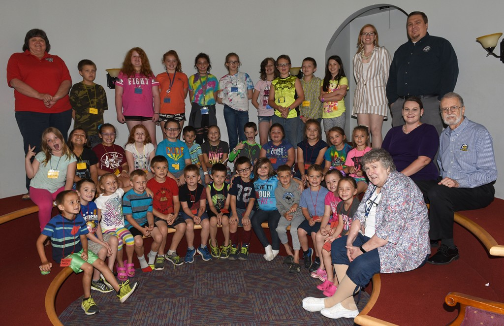 Morehead State Retired and Senior Volunteer Program (RSVP) and the Rocky J. Adkins Public Library put on a drug prevention summer camp for kids in June in Elliott County