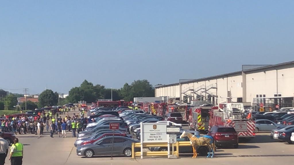 Employees evacuated