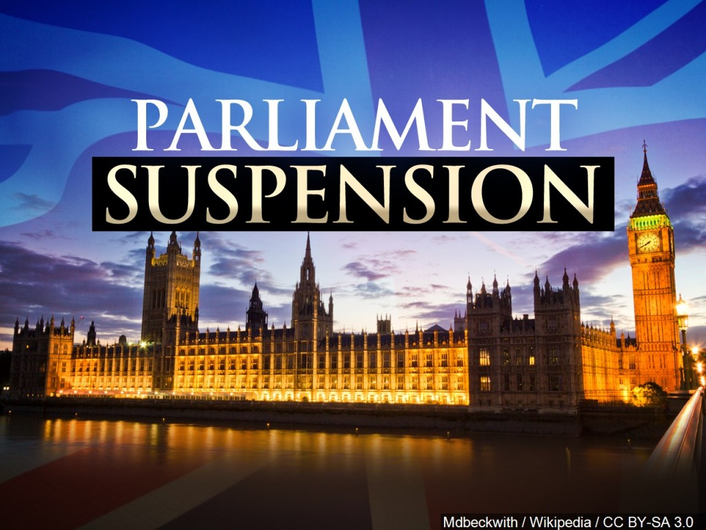 Parliament Suspension (Queen approves Boris Johnson's request to suspend Parliament)