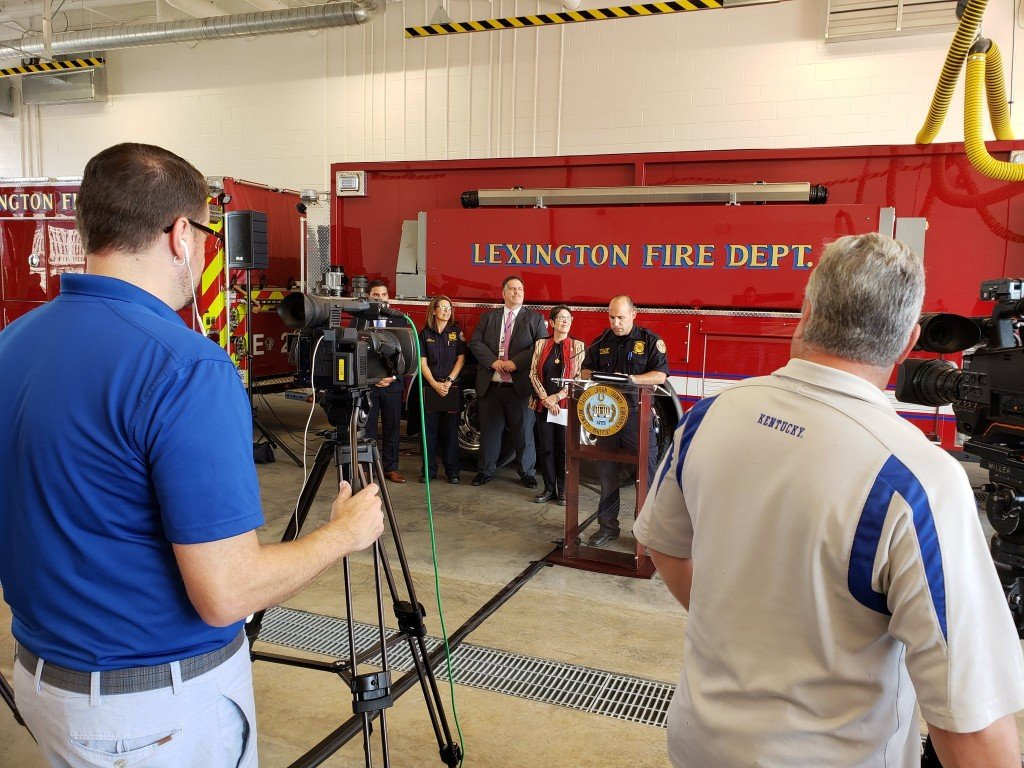 The station began runs earlier this month but held an official ceremony Tuesday morning.